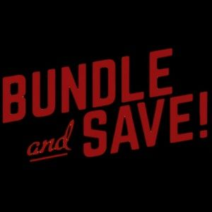 Make a bundle of 3 or more and save 20%